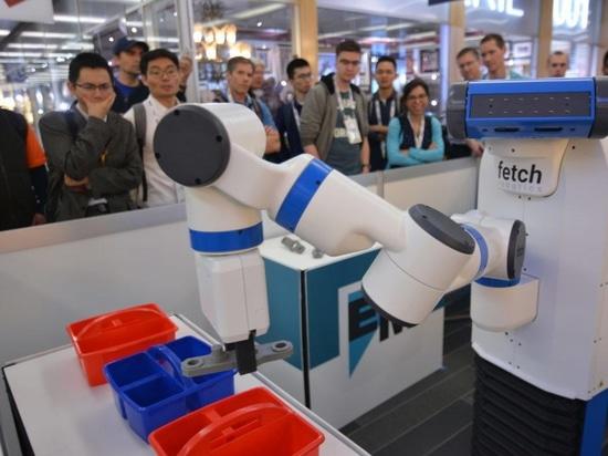 Holen Sie sich Robotik FetchIt! Gewinner des Wettbewerbs Mobile Manipulation Challenge