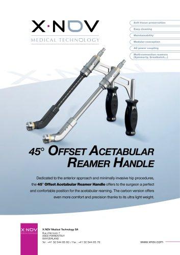 45° Offset Acetabular reamer Handle
