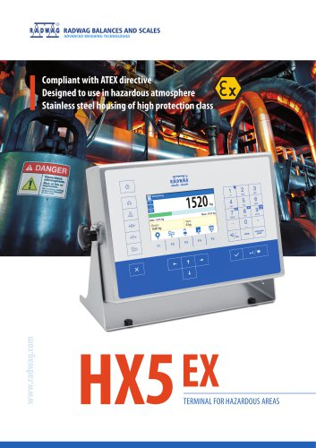 HX5 EX TERMINAL FOR HAZARDOUS AREAS