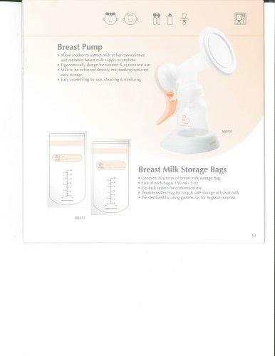 BBA15  Breast Milk Bag
