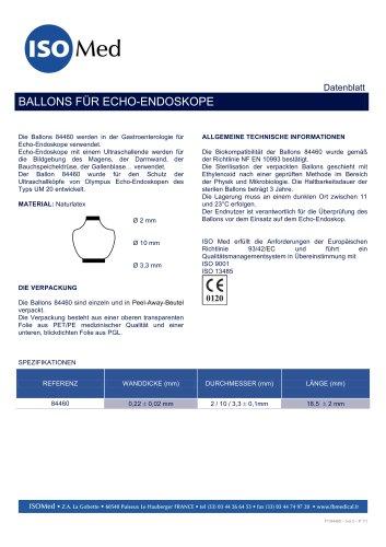 BALLONS FÜR ECHO-ENDOSKOPE