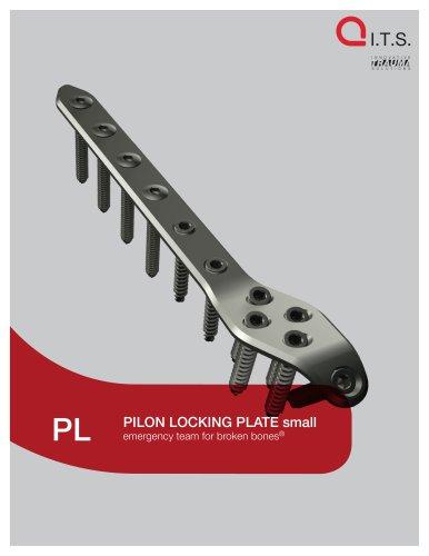 PL - Pilon Locking Plate small