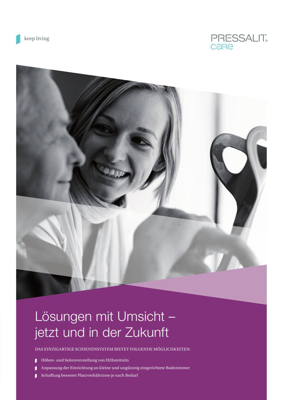 Profil Prospekt - Pressalit Care - PDF Katalog | technische ...