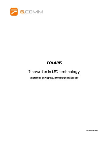 POLARIS Innovation in LED technology
