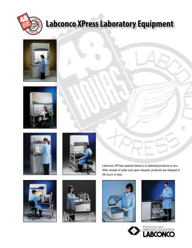 Labconco XPress Laboratory Equipment