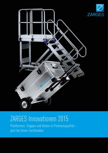 ZARGES Innovationen 2015