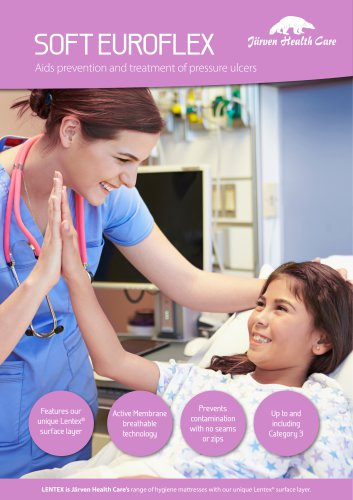 Soft Euroflex - Hygiene Mattress with Lentex®
