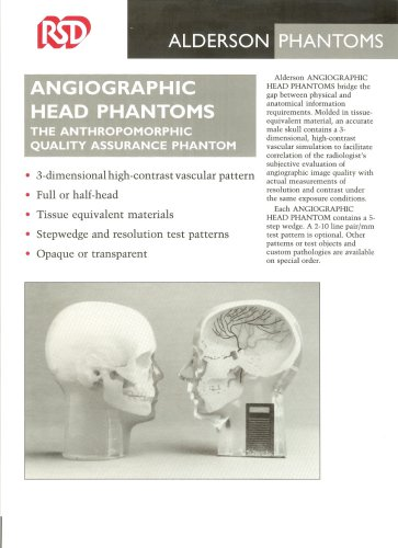 angiographic head phantoms