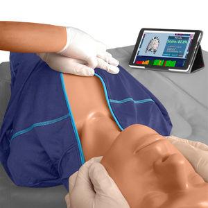 Trainingspuppe für CPR / Oberkörper / mit Echtzeit-Rückwirkung
