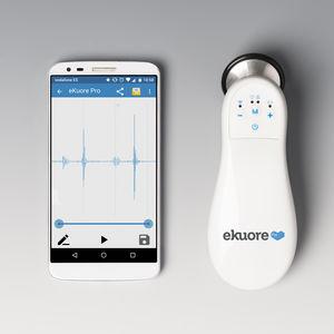 Kardiologie-Stethoskop / für Ausbildung / für Telemedizin / elektronisch
