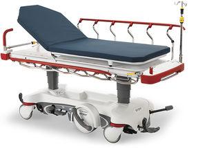 Transport-Fahrtrage / elektrisch / röntgenstrahlendurchlässig / 2 Ebenen