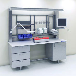 modulare Labor-Arbeitsstation