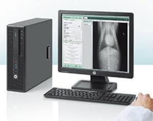 Computer-Arbeitsplatz / für Veterinärbildgebung