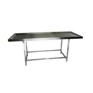 Tisch für Bestattungsvorbereitung