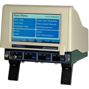 Infusionspumpenanalysegerät / kompakt / modular / mit Touchscreen