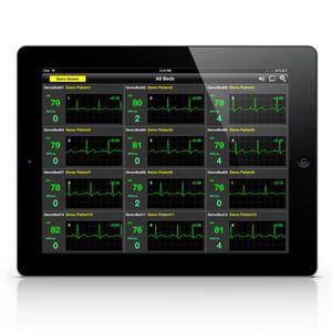 Visualisierungssoftware / Monitoring / Umform / für Vitalzeichen-Telemonitoring