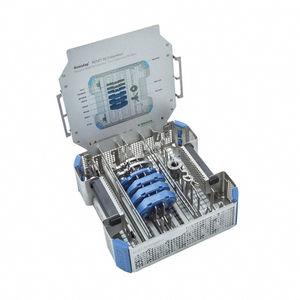Container für chirurgisches Instrument / Loch / sterilisierbar