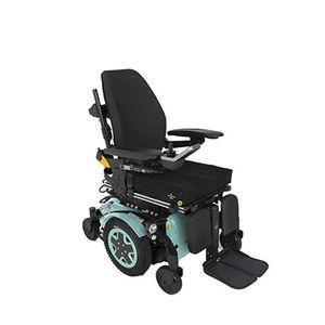 elektrischer Rollstuhl / zur Nutzung im Freien / zur Nutzung im Innenbereich / Fußstütze