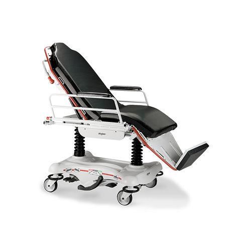 hydropneumatischer Tragestuhl / höhenverstellbar / dreiteilig / auf Rollen
