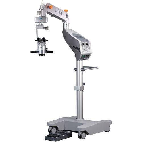 Mikroskop für ophtalmologische Chirurgie / auf Rollen