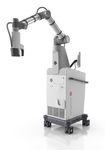 Mikroskopträger-Chirurgieroboter / für Neurochirurgie