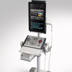 Ultraschallgerät / tragbar, mit Transportwagen