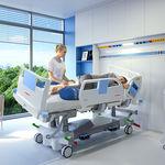 Intensivpflegebett / elektrisch / höhenverstellbar / seitlich schwenkbar