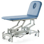 elektrischer Massagetisch / hydraulisch / höhenverstellbar / auf Rollen
