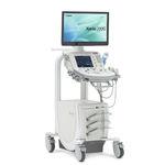 Ultraschallgerät auf Plattform / für Multifunktions-Ultraschall / Schwarz-Weiss / 3D/4D