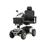 Elektrischer Scooter / 4 Räder / mit Korb