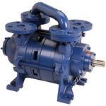 Vakuumpumpe für medizinische Anwendungen / Flüssigkeitsring / Impeller / getaucht