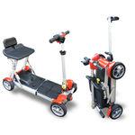 Elektrischer Scooter / 4 Räder
