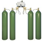Medizinisches Gasversorgungssystem / für medizinische Gase