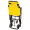 höhenverstellbarer Tragestuhl / auf Rollen / Fußstütze