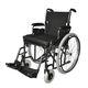manueller Rollstuhl / zur Nutzung im Freien / zur Nutzung im Innenbereich / Fußstütze