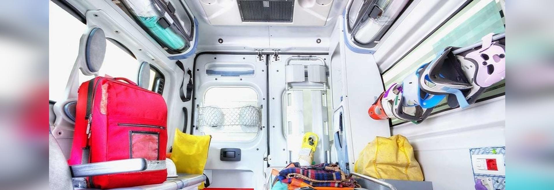 Experten analysieren den Luftstrom in modernen Krankenwagen, um die mögliche Exposition des Personals gegenüber Covid-19-Aerosolen in ihren Fahrzeugen zu verringern.