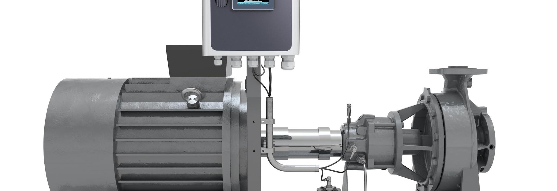 Die Überwachung des Gerätes spürt Pumpen-Systeme auf