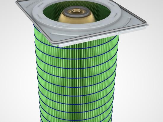 Filter für Hoch-Leistungsfähigkeit industrielle Staubabsaugung