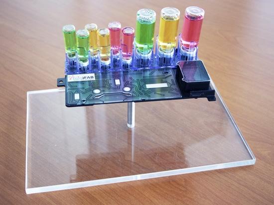 Mikrofluidik-Kassette (iMiLAB)
