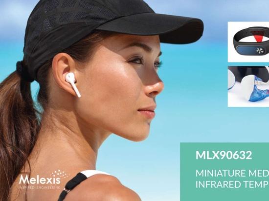 Melexis kündigt den weltweit kleinsten medizinischen FIR-Sensor an