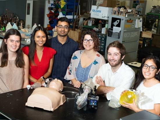 Studentenerfindung gibt Patienten den Atem des Lebens