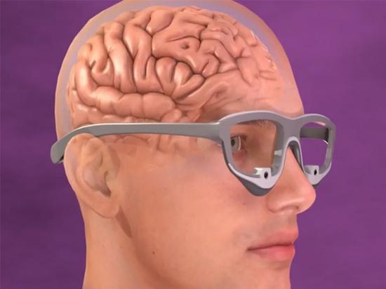 Optogenetisches Gehirnsystem zur Verbesserung des Sehvermögens von Blinden