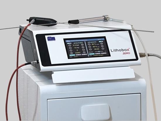 Lithobox ® Null-Ultraschall Pneumatischer Lithotripter