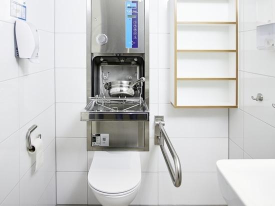 MEIKO-Lösung für die Isolierstation eines Krankenhauses: TopLine 30 WC