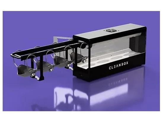 Cleanbox verwendet UVC zur Dekontaminierung von 100 chirurgischen Masken pro Stunde