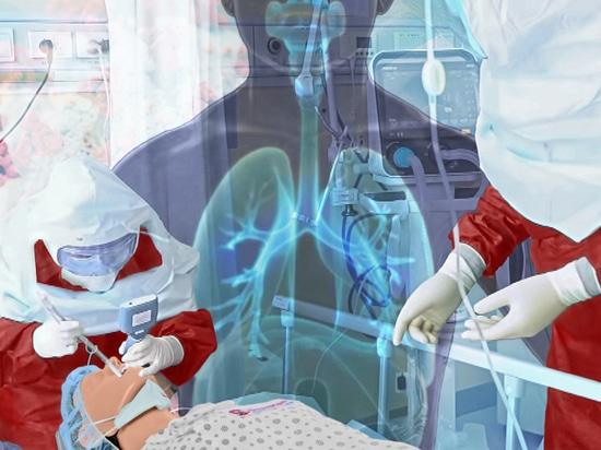 SmartMan RSIM ARDS / COVID-19 Wiederbelebungs-Simulator für koordinierte Reaktion auf akutes Atemnotsyndrom