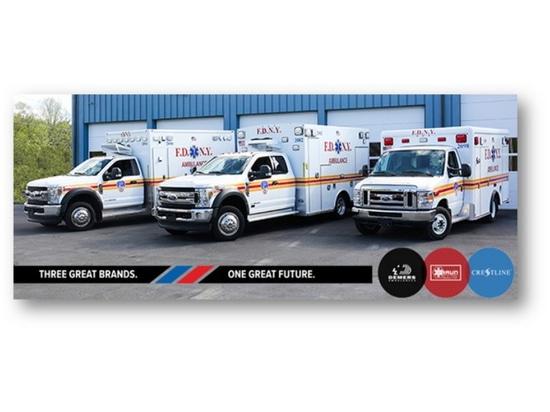Hersteller von DBC-Krankenwagen liefern neue Krankenwagen an das FDNY