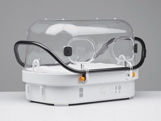 """Robustnest"""": Ein kompakter und tragbarer Inkubator für Neugeborene schützt vor Unterkühlung"""