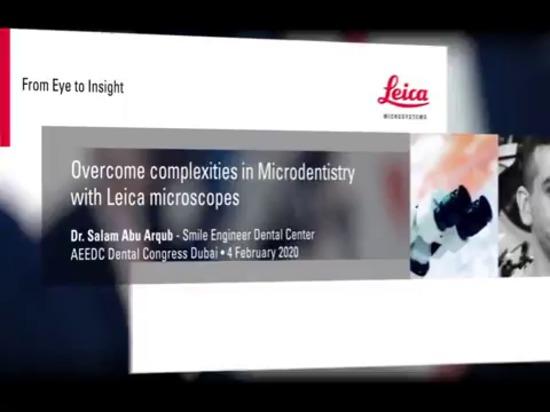Geförderter Artikel. Von der Zahnmedizin zur Mikro-Zahnmedizin: Warum ein Mikroskop benutzen?
