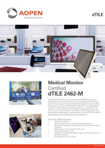 Specsheet 23.8'' Medical Monitor